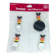 kitchen items store: disney magnet set best of mickey kitchen items  pc