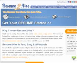 resume 2 hire review