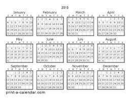 Printable Calendar 2015 Monthly Printable Calendars For 2015 Under Fontanacountryinn Com