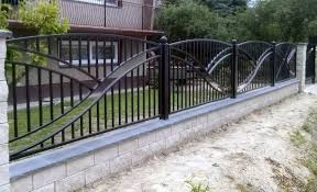 metal fence styles. Metal Fence Design Contemporary Steel Designs And Gate Intended For Plan 10 Styles