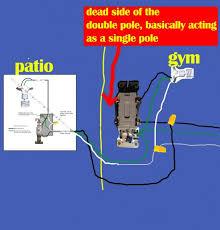 four way switch to single pole switch help doityourself com Dual Pole Light Switch Wiring name light switch wiring diagram wwsdwf jpg views 8152 double pole light switch wiring