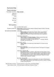 My Updated Cv Resume