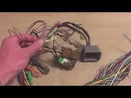 2000 subaru legacy wiring harness vw conversion youtube subaru wiring harness diagram at Subaru Wiring Harness Conversion