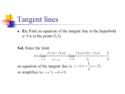 2 tangent lines ex find an equation