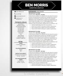 Modern Resume App Resume Template Ben Morris App For Mac Resume Pinterest
