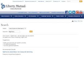 you to liberty mutual s service partner octo but a search today for righttrack on liberty mutual s website brings a null set and liberty mutual was