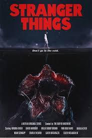 постеры сериала очень странные дела воссоздали плакаты популярных
