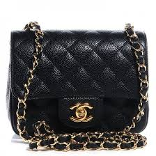Best 25+ Chanel chain bag ideas on Pinterest | Chanel bags, Chanel ... & CHANEL Caviar Quilted Mini Square Flap Bag Black Adamdwight.com
