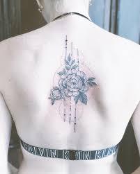 At Nikachic Nika Peony Geometry Cover Up Tattoo Tetov