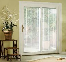 awesome sliding patio doors with built in blinds 1000 ideas about patio door blinds on sliding door interior remodel images