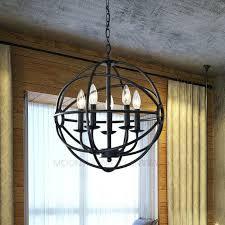 modern globe chandelier 5 light orb lighting sphere pendant lamp ceiling fixture glass