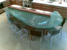 raised bar glass countertop 1