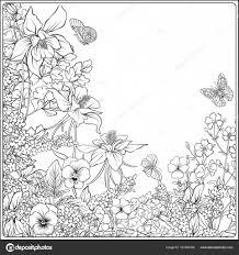 春の花のコンポジション チューリップ水仙の花スミレの ストック