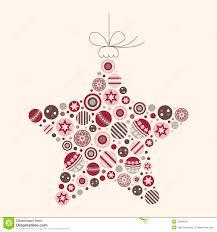 Abstrakte Weihnachtsstern Vektorabbildung Vektor Abbildung