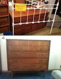 NOLA craigslist iron bed and mcm dresser