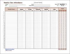class register template classroom attendance sheets class attendance sheets excel