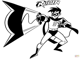 Small Picture Awesome Coloring Pages Batman Robin Pictures Coloring Page