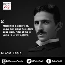 Nikola Tesla Quotes Gorgeous Patent Quote Tesla Vs Marconi Patent Yogi LLC