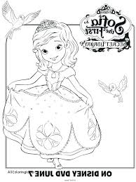 Sofia The First Mermaid Coloring Pages Princess E Epic Moonoon