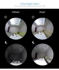 Best Light Bulb Camera Led Light Bulb With 360 Degree Panoramic Camera