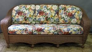 charleston outdoor wicker sofa