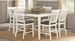 dining room furniture white.  Dining Keston White 5 Pc Square Counter Height Dining Room Intended Furniture I