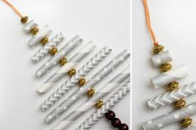 Paper Christmas Tree Ornaments Diy Christmas Ornament Tutorial Using Paper Straws