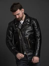 the flat head horsehide rider s jacket