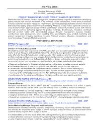Resume Product Manager Resume