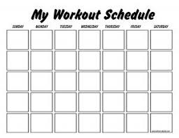 This Site Has Blank And Pre Made Work Out Schedules For Several