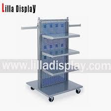 Metal Display Racks And Stands metal hanging portable clothing store display stand racks shelves 15