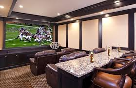 Unique Cool Couches For Man Cave Your Manc Ave With A Bar Located Behind To Impressive Ideas