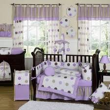35 casual purple and gray baby bedding susan style