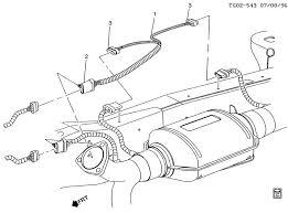 o2 sensor wiring harness o2 automotive wiring diagrams description 960708tg02 543 o sensor wiring harness