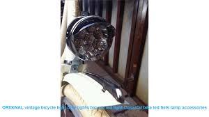 Original Vintage Bicycle Light Bike Lights Bicycle Led Light