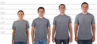 Custom Ink Size Chart Customink Sizing Line Up For American Apparel Usa Made Tri