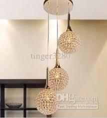 simple chandelier lighting. Simple Modern Gold Crystal Pendant Lamp Art Chandelier Living Room Restaurant Dining Round Shaped Design 3l Sputnik Diy Lighting