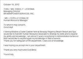 letter of intent job sample employment letter of intent template letter of intent sample job