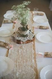 Mason Jar Table Decorations Wedding Wedding Decorations Made From Burlap And Mason Jars Wedding Ideas 73