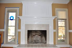 fireplace mantel decor contemporary
