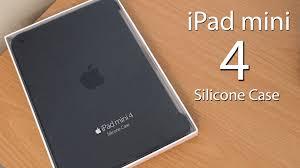 apple ipad mini 4 silicone case review