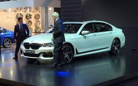 bmw new car releaseAuto Expo 2016 Sachin Tendulkar launches all new BMW 7series for