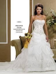 gorgeous ball gown strapless satin wedding dress mlwk13181 665 00