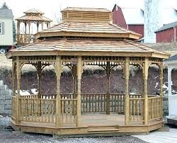 gazebo kit wood gazebo kit gazebo outdoor kitchen plans