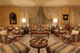 furniture pieces for living room. well appointed luxury living room with matching furniture pieces and floral pattern area rug for