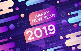 Happy New Year 2019 HD Theme Desktop ...