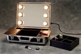 Portable Vanity Mirror With Lights New Hard Suitcase Portable Vanity Mirror With Lights Kiakiyo