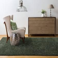 hand made moss dark green grey area rug soft gy carpet mat 120x180cm