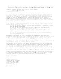 Instrumentation Engineer Cover Letter free articles of ...