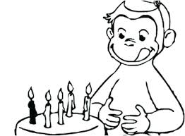 Curious George Coloring Pages Free Curious Coloring Pages Curious